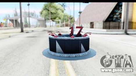 Han Farhan Cake Grenade para GTA San Andreas tercera pantalla