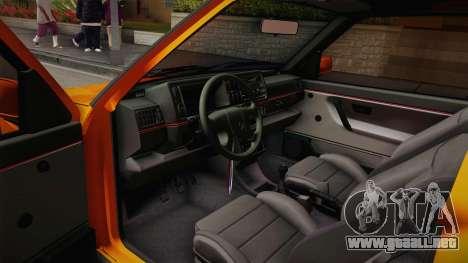 Volkswagen Golf Mk2 GTI .ILchE STYLE. para GTA San Andreas vista hacia atrás