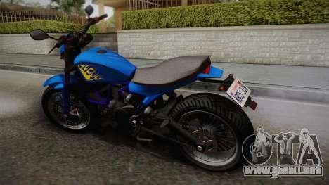 GTA 5 Pegassi Esskey para GTA San Andreas left