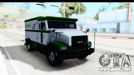GTA 5 Stockade v1 IVF para la visión correcta GTA San Andreas