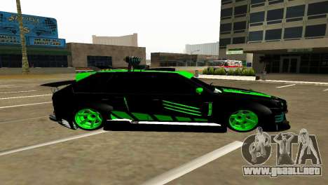 VAZ 2114 DTM GTR TURBO SPORTS AMG para GTA San Andreas left