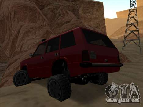 Huntley Offroad para GTA San Andreas left