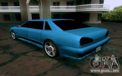 Elegy Sedan para la visión correcta GTA San Andreas