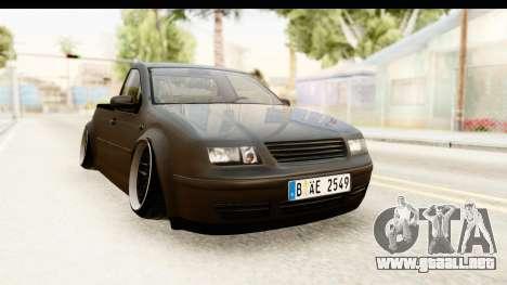 Volkswagen Bora Pickup para la visión correcta GTA San Andreas