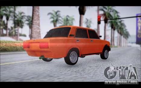 VAZ 2105 parche 2.0 para GTA San Andreas left