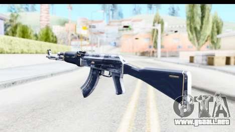 AK-47 Elite Build para GTA San Andreas segunda pantalla