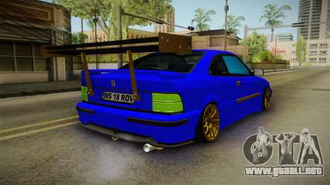 Rover 220 Bozgor Edition para GTA San Andreas left