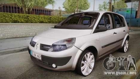 Renault Scenic II para GTA San Andreas