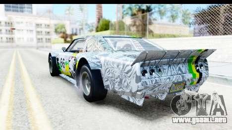 GTA 5 Declasse Tampa Drift IVF para las ruedas de GTA San Andreas