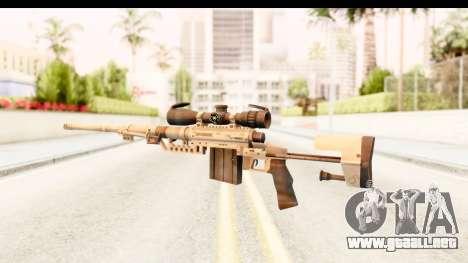 Cheytac M200 Intervention Tan para GTA San Andreas segunda pantalla