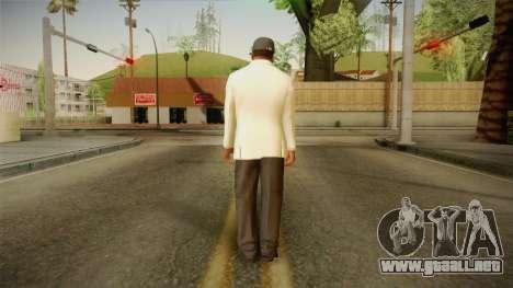 GTA 5 Franklin Tuxedo v3 para GTA San Andreas tercera pantalla