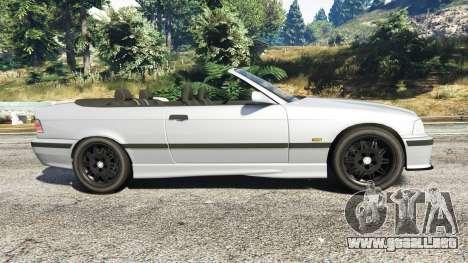 GTA 5 BMW 328i (E36) M-Sport [replace] vista lateral izquierda