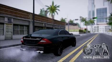 Mercedes-Benz Cls 630 para GTA San Andreas vista hacia atrás
