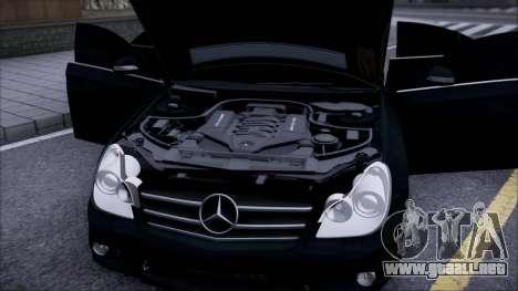 Mercedes-Benz Cls 630 para la visión correcta GTA San Andreas