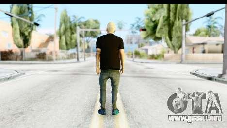 Blonde Messi para GTA San Andreas tercera pantalla