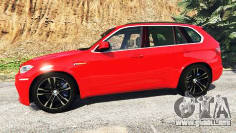 GTA 5 BMW X5 M (E70) 2013 v0.3 [replace] vista lateral izquierda