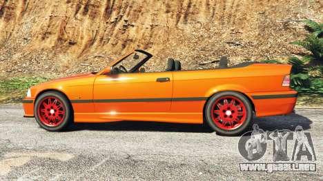 GTA 5 BMW 328i (E36) M-Sport v1.1 [replace] vista lateral izquierda