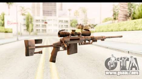 Cheytac M200 Intervention Black para GTA San Andreas segunda pantalla