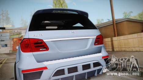 Mercedes-Benz GL63 Brabus para la visión correcta GTA San Andreas