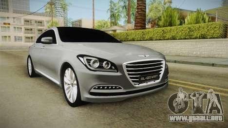 Hyundai Genesis 2016 v1.2 para GTA San Andreas