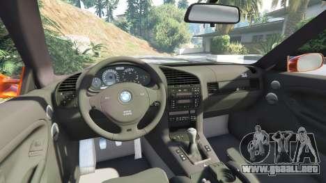 GTA 5 BMW 328i (E36) M-Sport v1.1 [replace] vista lateral derecha