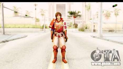 Sengoku Musou 4 - Sanada Yukimura para GTA San Andreas segunda pantalla