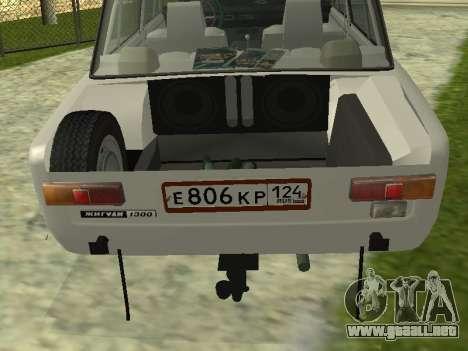 VAZ 21013 124RUS para GTA San Andreas vista posterior izquierda
