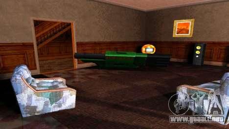 BAZUKA RLX-9157 para GTA San Andreas quinta pantalla