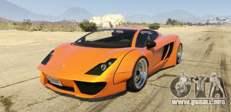 Pegassi Vacca RocketCow Widebody para GTA 5