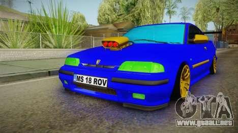 Rover 220 Bozgor Edition para la visión correcta GTA San Andreas