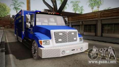 International Terrastar Ambulance 2014 para la visión correcta GTA San Andreas