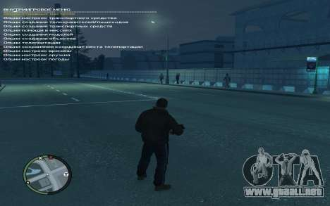 Simple Native Trainer Version 6.4 RUS para GTA 4