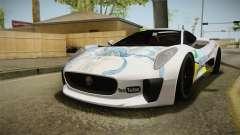 Jaguar C-X75 Ika Musume Itasha para GTA San Andreas