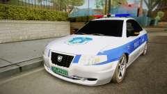 Ikco Samand Police v2 para GTA San Andreas