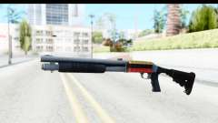 Tactical Mossberg 590A1 Chrome v2 para GTA San Andreas