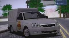 Lada Priora Budka para GTA San Andreas