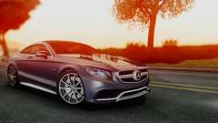 Mercedes-Benz S-Class Coupe AMG para GTA San Andreas