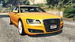 Audi A8 L (D4) 2013 [replace]