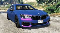 BMW 750i xDrive M Sport (G11) [add-on] para GTA 5