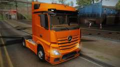 Mercedes-Benz Actros Mp4 4x2 v2.0 Steamspace para GTA San Andreas