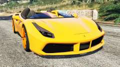 Ferrari 488 Speedster 2016 [replace] para GTA 5