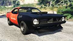 Plymouth Cuda BeckKustoms para GTA 5