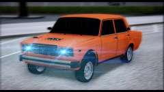 VAZ 2105 parche 2.0 para GTA San Andreas