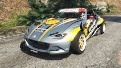 Mazda MX-5 (ND) RADBUL Mango [replace] para GTA 5