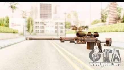 Cheytac M200 Intervention Black para GTA San Andreas