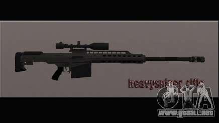 Heavysniper rifle para GTA San Andreas