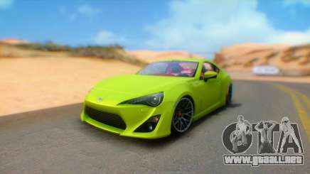 Toyota GT86 2015 Stance para GTA San Andreas