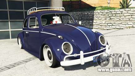 Volkswagen Fusca 1968 v0.9 [add-on] para GTA 5