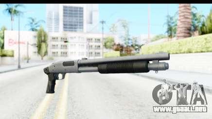 Tactical Mossberg 590A1 Chrome v1 para GTA San Andreas