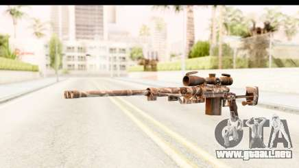 Cheytac M200 Intervention Skull para GTA San Andreas